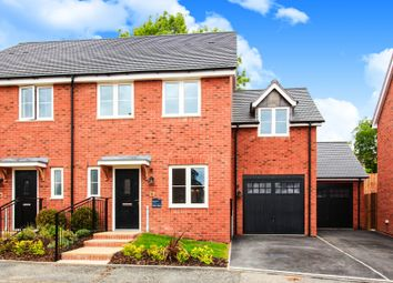 3 bed end terrace house for sale in Saxon Close, Southam CV47