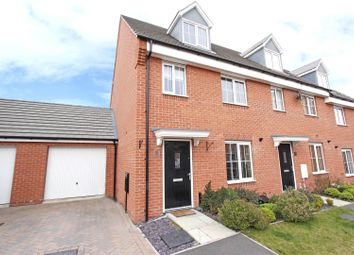 Thumbnail 3 bed terraced house for sale in Hexham Avenue, Bourne