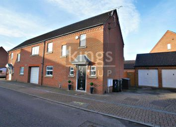Thumbnail 3 bed semi-detached house for sale in Bradley Road, Waltham Abbey