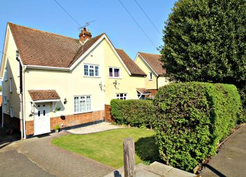 Thumbnail 3 bedroom semi-detached house for sale in Manor Road, Harlow