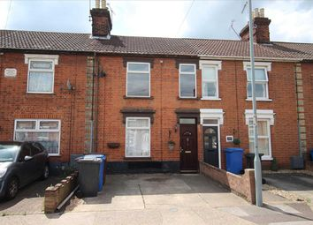 Thumbnail 2 bedroom terraced house for sale in Tomline Road, Ipswich