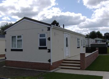 Thumbnail 2 bed bungalow for sale in Bewick Main Caravan Park, Birtley, Chester Le Street