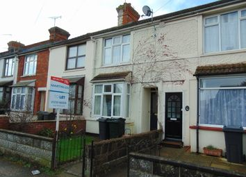 Thumbnail 2 bed terraced house to rent in Linden Road, Ashford