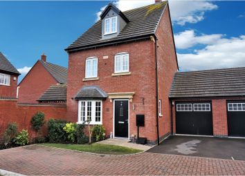 Thumbnail 4 bed detached house for sale in Gilson Crescent, Stoney Stanton