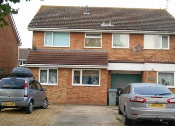 Thumbnail 3 bed terraced house to rent in Sewell Close, Deeping St James, Peterborough, Lincolnshire
