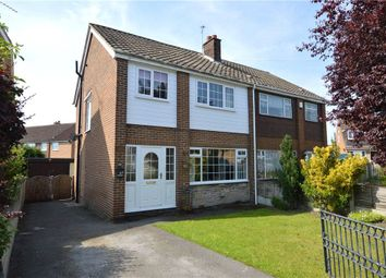 Thumbnail 3 bed semi-detached house for sale in Goodwood Avenue, Kippax, Leeds