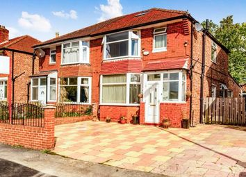 Thumbnail 3 bed semi-detached house for sale in Broadhill Road, Burnage, Manchester, Greater Manchester