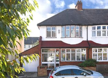 Thumbnail 3 bed semi-detached house for sale in Holmesley Road, London
