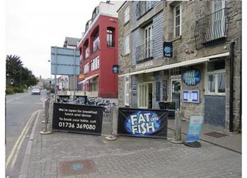 Thumbnail Restaurant/cafe for sale in Fat Fish Cafe, Wharf Road, Wharf House, Penzance, Cornwall