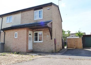 Thumbnail 2 bed end terrace house for sale in Lombardy Drive, Dogsthorpe, Peterborough