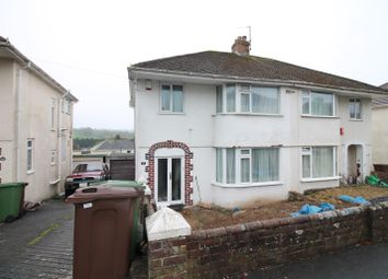 Thumbnail 3 bed semi-detached house for sale in Lynwood Avenue, Plympton, Plymouth