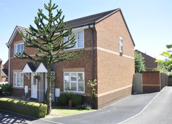 Thumbnail 3 bed semi-detached house for sale in Rews Meadow, Pinhoe, Exeter