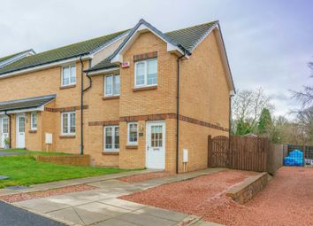 Thumbnail 3 bed end terrace house for sale in Wilkie Drive, Holytown, Motherwell