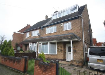 Thumbnail 5 bedroom semi-detached house for sale in Arnesby Crescent, Leicester, Leicestershire