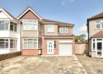 Thumbnail 5 bed semi-detached house for sale in Kenton Gardens, Harrow, Middlesex