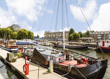 Thumbnail 1 bed houseboat for sale in Greenland Dock, London