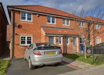Thumbnail 3 bed semi-detached house for sale in Druridge Drive, North Fenham, Newcastle Upon Tyne