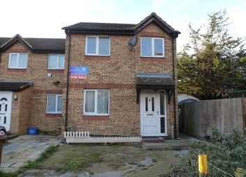 Thumbnail 3 bed end terrace house for sale in Oakley Close, Grays