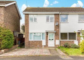 Thumbnail 2 bedroom end terrace house for sale in Cranbourne Park, Hedge End, Southampton