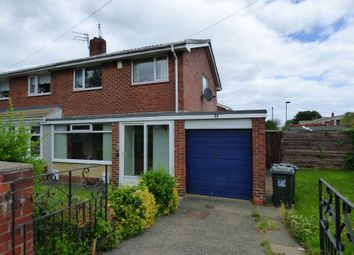 Thumbnail 3 bed semi-detached house for sale in Meadway, Forest Hall, Newcastle Upon Tyne