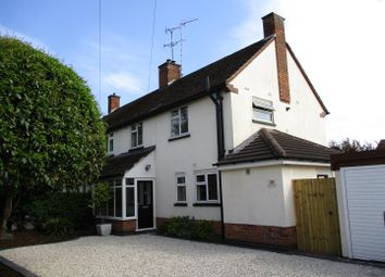 Thumbnail 3 bed semi-detached house for sale in Copt Oak Road, Narborough, Leicester