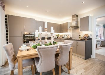 """Thumbnail 3 bedroom property for sale in """"The Holnicote"""" at Winchester Road, Boorley Green, Botley"""