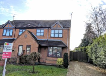 Thumbnail 3 bed semi-detached house to rent in Meadow Close, Pinchbeck, Spalding