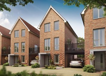 """Thumbnail 3 bedroom detached house for sale in """"Bay"""" at Hedgers Way, Kingsnorth, Ashford"""