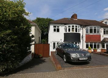 Thumbnail 3 bed semi-detached house for sale in Copthorne Avenue, Bromley, London