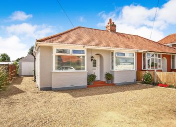 Thumbnail 2 bed semi-detached bungalow for sale in Links Avenue, Hellesdon, Norwich