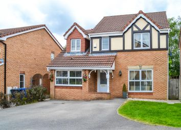 Thumbnail 4 bed detached house for sale in Hunstanton Close, Euxton, Chorley