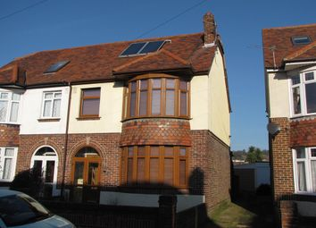 Thumbnail 3 bed semi-detached house for sale in Dysart Avenue, Drayton, Portsmouth