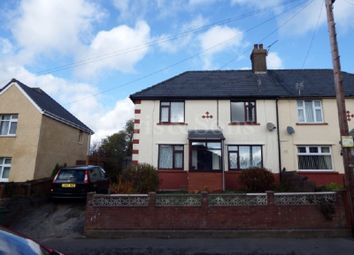 Thumbnail 3 bed semi-detached house for sale in Park Crescent, Penygarn, Pontypool, Monmouthshire.