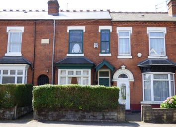 Thumbnail 3 bed terraced house for sale in Springfield Road, Kings Heath, Birmingham, West Midlands