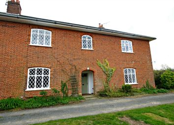 Thumbnail 4 bed farmhouse to rent in Marlesford, Woodbridge