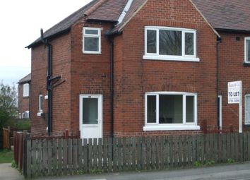 Thumbnail 3 bedroom semi-detached house to rent in Upper Wortley Road, Thorpe Hesley