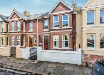 Thumbnail 4 bedroom terraced house for sale in Plymouth, Devon, England