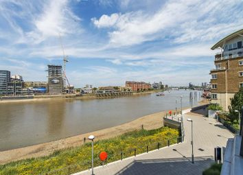 Thumbnail 3 bed flat to rent in Ensign House, Battersea Reach, Juniper Drive, Battersea London