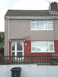 Thumbnail 2 bed semi-detached house to rent in Nant Gwyn, Cwmdare, Aberdare