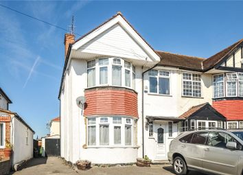 Thumbnail 3 bed semi-detached house for sale in Merton Way, Hillingdon, Middlesex
