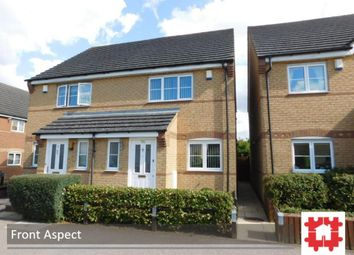 Thumbnail 2 bed semi-detached house for sale in Regent Street, Stotfold, Herts