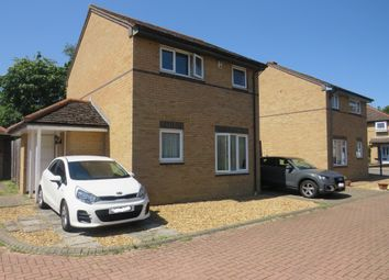 Thumbnail 3 bed link-detached house for sale in Greenhill Close, Loughton, Milton Keynes