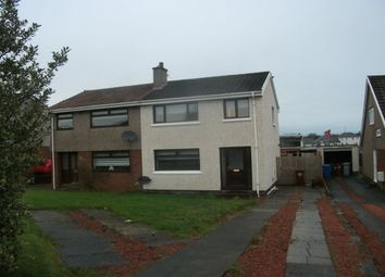 Thumbnail 3 bed semi-detached house to rent in Loch Park Avenue, Carluke