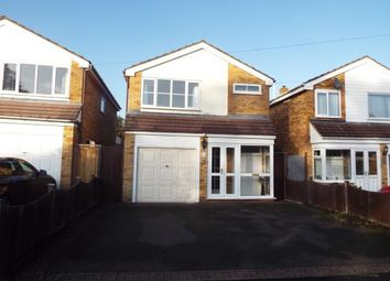 Thumbnail 3 bed detached house for sale in Jaques Close, Water Orton, Birmingham, .