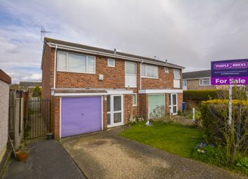Thumbnail 3 bed semi-detached house for sale in Burnham Close, Windsor