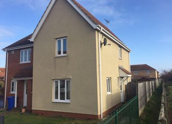 Thumbnail 2 bedroom semi-detached house to rent in Holystone Way, Carlton Colville, Lowestoft