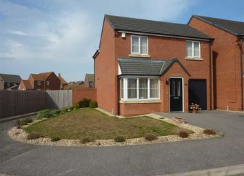 Thumbnail 3 bed detached house for sale in Sandgate Close, Scartho Top, Grimsby