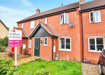 Thumbnail 2 bedroom terraced house for sale in Captain Ford Way, Dereham