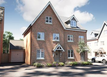 "Thumbnail 3 bedroom semi-detached house for sale in ""The Scarsdale"" at Winchester Road, Boorley Green, Botley"