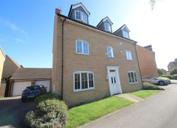 Thumbnail 5 bed detached house for sale in Marketstede, Hampton Hargate, Peterborough